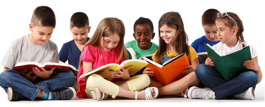 Children Reading Phonics Books