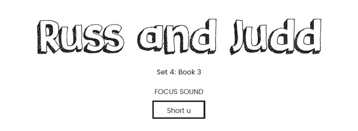 Russ and Judd Phonics Book