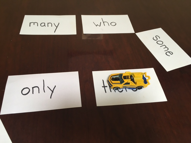 Sight word activities for first grade