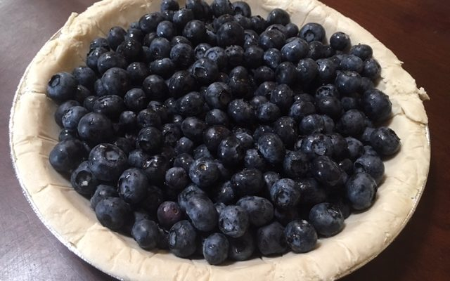 Decodable Blueberry Pie Recipe