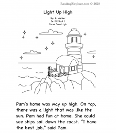 igh phonics stories