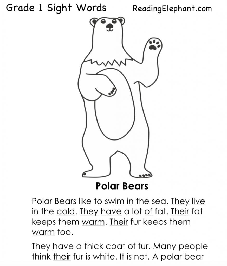- Sight Word Stories PDF - Reading Elephant